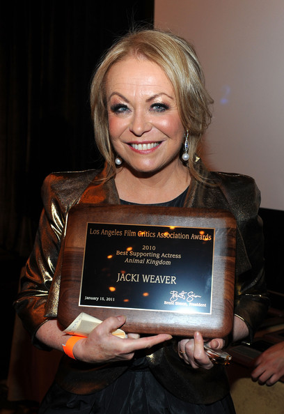 Jacki Weaver Pearl Drop earrings