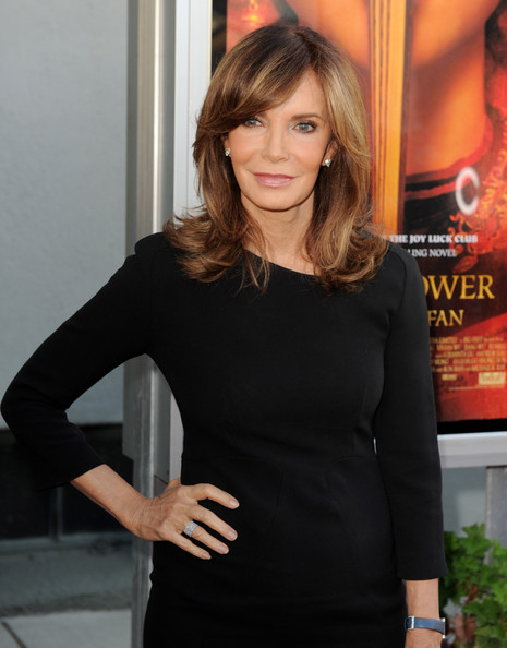 Jaclyn Smith Side Swiped Bangs
