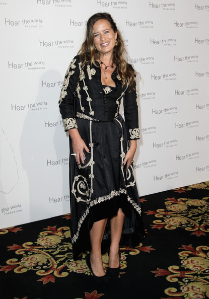 Jade Jagger Skirt Suit