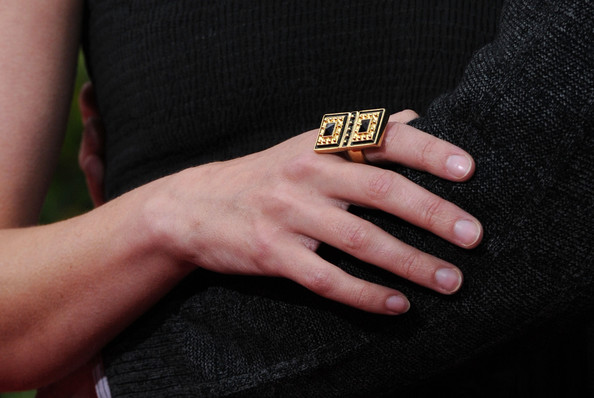Jaime King Cocktail Ring