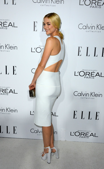 Jaime King Cutout Dress