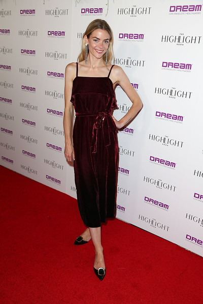 Jaime King Evening Pumps