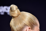Jaime King Twisted Bun