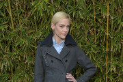 Jaime King Wool Coat