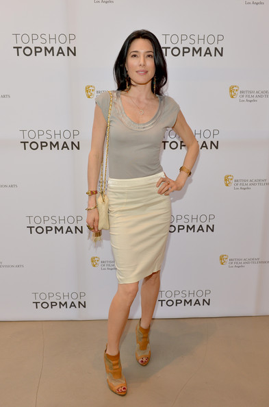 Jaime Murray Pencil Skirt