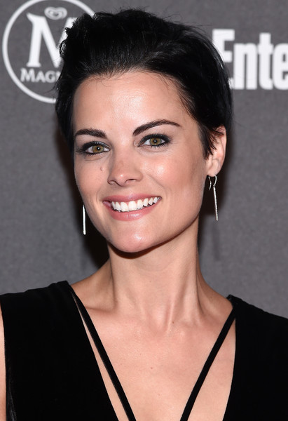 Jaimie Alexander Boy Cut [people upfronts,entertainment weekly,party,entertainment weekly people upfronts,hair,face,eyebrow,hairstyle,chin,skin,lip,beauty,black hair,nose,new york city,cedar lake,jaimie alexander,arrivals]