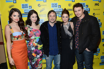 James Franco Ashley Benson 'Spring Breakers' Cast Pose at SXSW