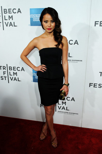 Jamie Chung Little Black Dress