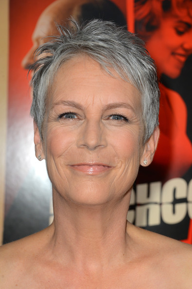 Jamie Lee Curtis Pixie [hair,face,eyebrow,hairstyle,chin,forehead,head,skin,lip,cheek,arrivals,jamie lee curtis,hitchcock,samuel goldwyn theater,beverly hills,california,fox searchlight pictures,academy of motion picture arts and sciences,premiere,premiere]