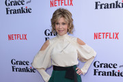 Jane Fonda Loose Blouse