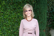 Jane Fonda Peplum Top