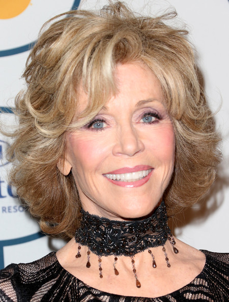 Jane Fonda Bob [hair,face,hairstyle,blond,chin,eyebrow,hair coloring,lip,layered hair,bob cut,jane fonda,lucian grainge,arrivals,salute to industry icons,salute to industry icons,the beverly hilton,beverly hills,california,56th annual grammy awards,grammy awards pre-grammy gala]