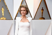 Jane Fonda Shoulder Pad Dress