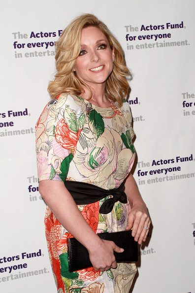 Jane Krakowski Leather Clutch