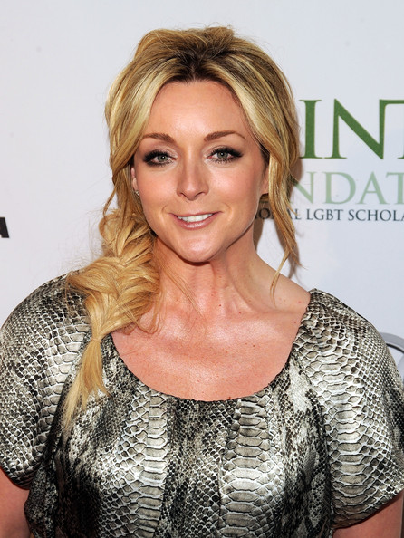 Jane Krakowski Long Braided Hairstyle