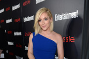 Jane Krakowski One Shoulder Dress