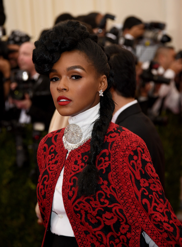 Janelle Monae Long Braided Hairstyle Long Braided