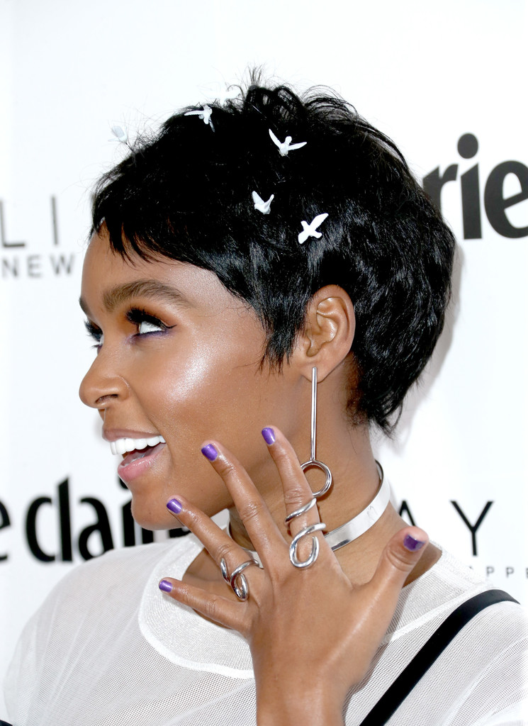 Janelle Monae Pixie Short Hairstyles Lookbook Stylebistro