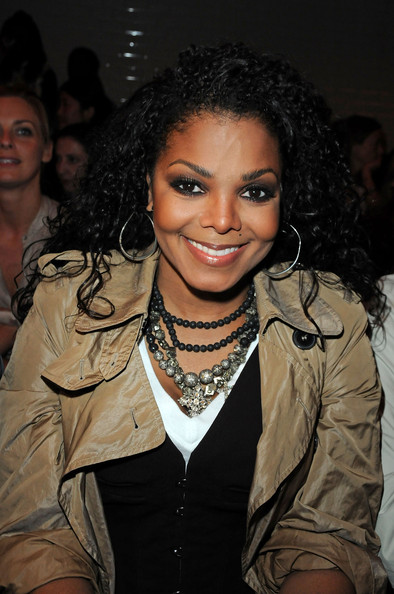 Janet Jackson Layered Beaded Necklace