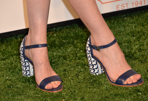 January Jones Evening Sandals