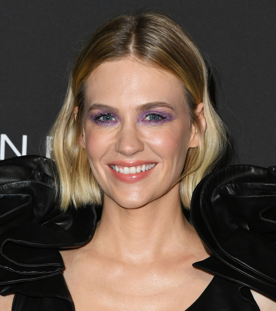 january jones hair stylebistro january jones short wavy cut hair lookbook stylebistro