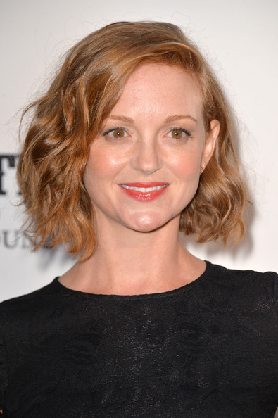 Jayma Mays Short Wavy Cut [country: portraits of an american sound,portraits,hair,face,hairstyle,eyebrow,blond,lip,chin,beauty,shoulder,brown hair,arrivals,jayma mays,annenberg space for photography,american sound,california,century city,annenberg space for photography opening celebration for country,annenberg space for photography exhibit]