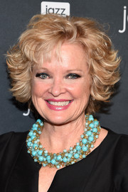 Christine Ebersole styled her hair into a layered razor cut for the 'Jazz and Broadway' event.
