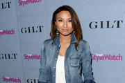 Jeannie Mai Denim Shirt