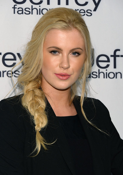 More Pics of Ireland Baldwin Long Braided Hairstyle (3 of 8) - Long Braided Hairstyle Lookbook - StyleBistro
