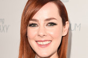 Jena Malone Medium Straight Cut with Bangs