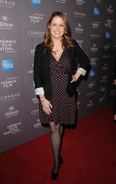 Jenna Fischer Print Dress