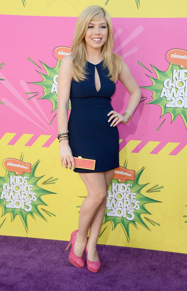 Jennette McCurdy Cutout Dress