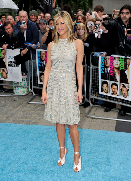 Jennifer Aniston Peep Toe Pumps