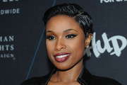 Jennifer Hudson Boy Cut