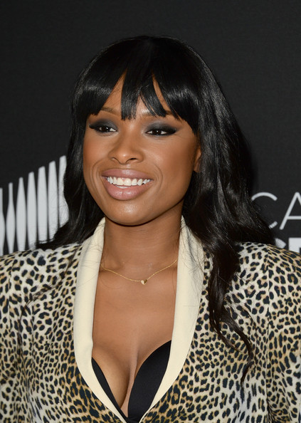 Jennifer Hudson Long Wavy Cut with Bangs