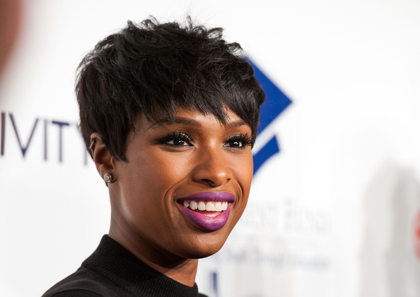 More Pics of Jennifer Hudson Layered Razor Cut 2 of 13 Short Hairstyles L