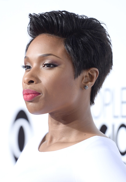 More Pics of Jennifer Hudson Short Straight Cut 5 of 42 Short Hairstyles