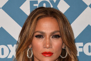 Jennifer Lopez Bright Lipstick