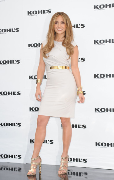 Jennifer Lopez Strappy Sandals