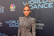 Jennifer Lopez Print Dress