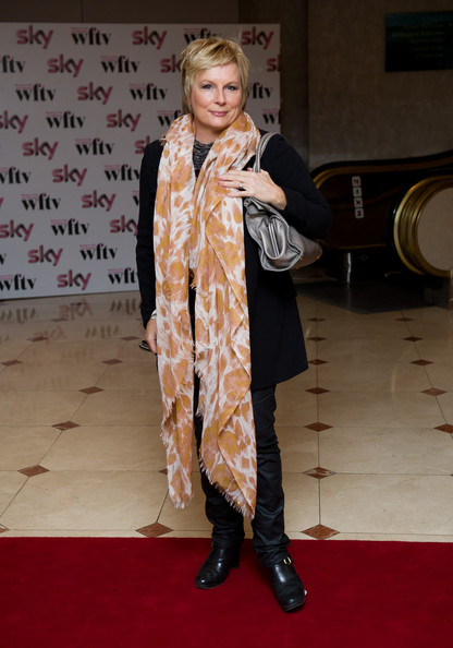 Jennifer Saunders Patterned Scarf