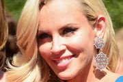 Jenny McCarthy Dangling Diamond Earrings