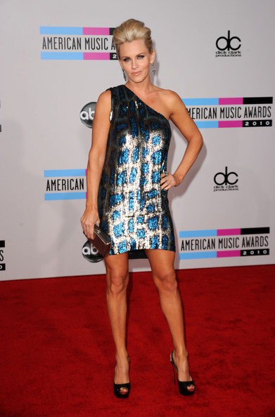 Jenny McCarthy One Shoulder Dress
