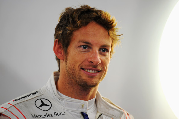 Jenson Button Hair