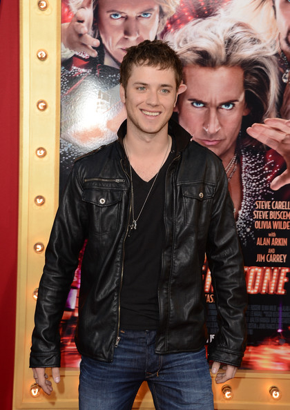 Jeremy Sumpter Leather Jacket