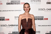 Jess Weixler Strapless Dress
