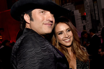 Jessica Alba Robert Rodriguez Sin City: A Dame to Kill For' Afterparty