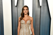 Jessica Alba Strapless Dress