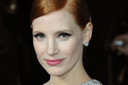 Jessica Chastain Diamond Studs