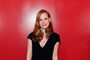 Jessica Chastain Form-Fitting Dress